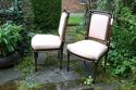 Pair of second empire salon chairs - picture 4