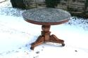 French period mahogany gueridon - picture 1