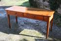 French cherry wood serving /side table - picture 2