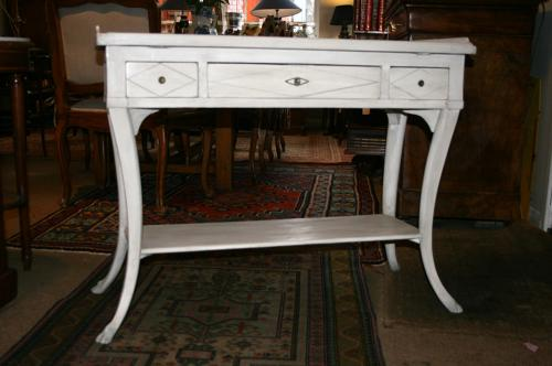 Pretty painted side table