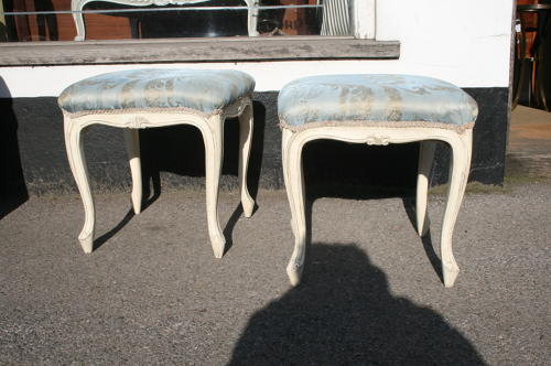 Pair french stools