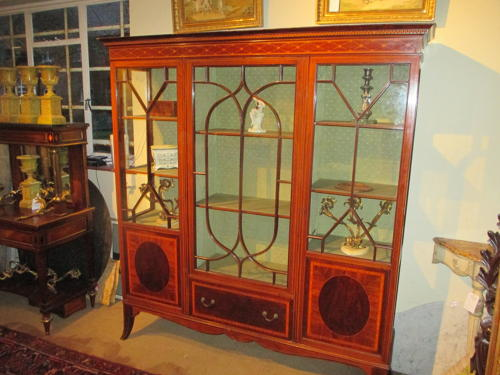 Large inlaid cabinet