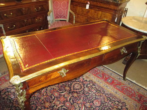 Large Rosewood writing table