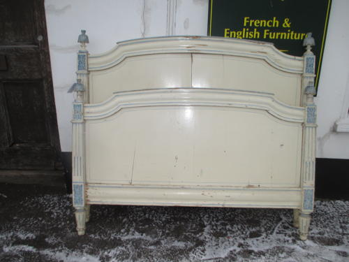 18th Century painted bed