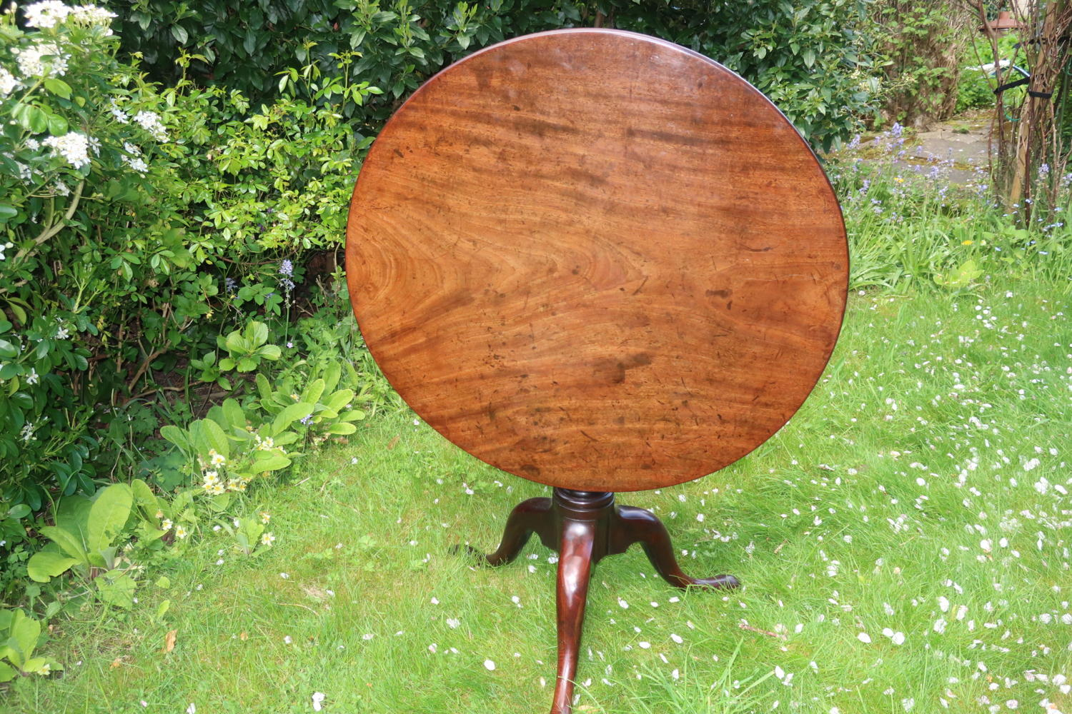 18th Century tilt top table