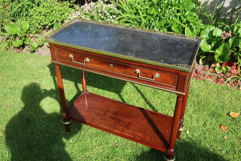 18th Century mahogany console table