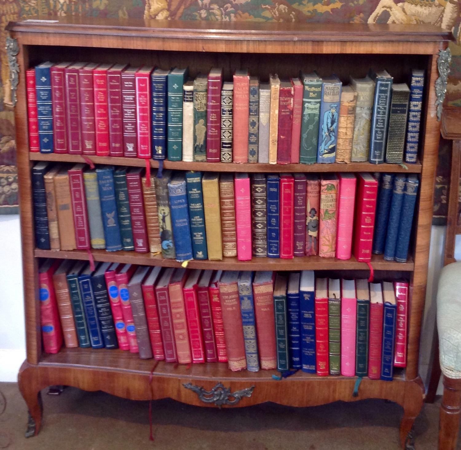 Open French Bookcase