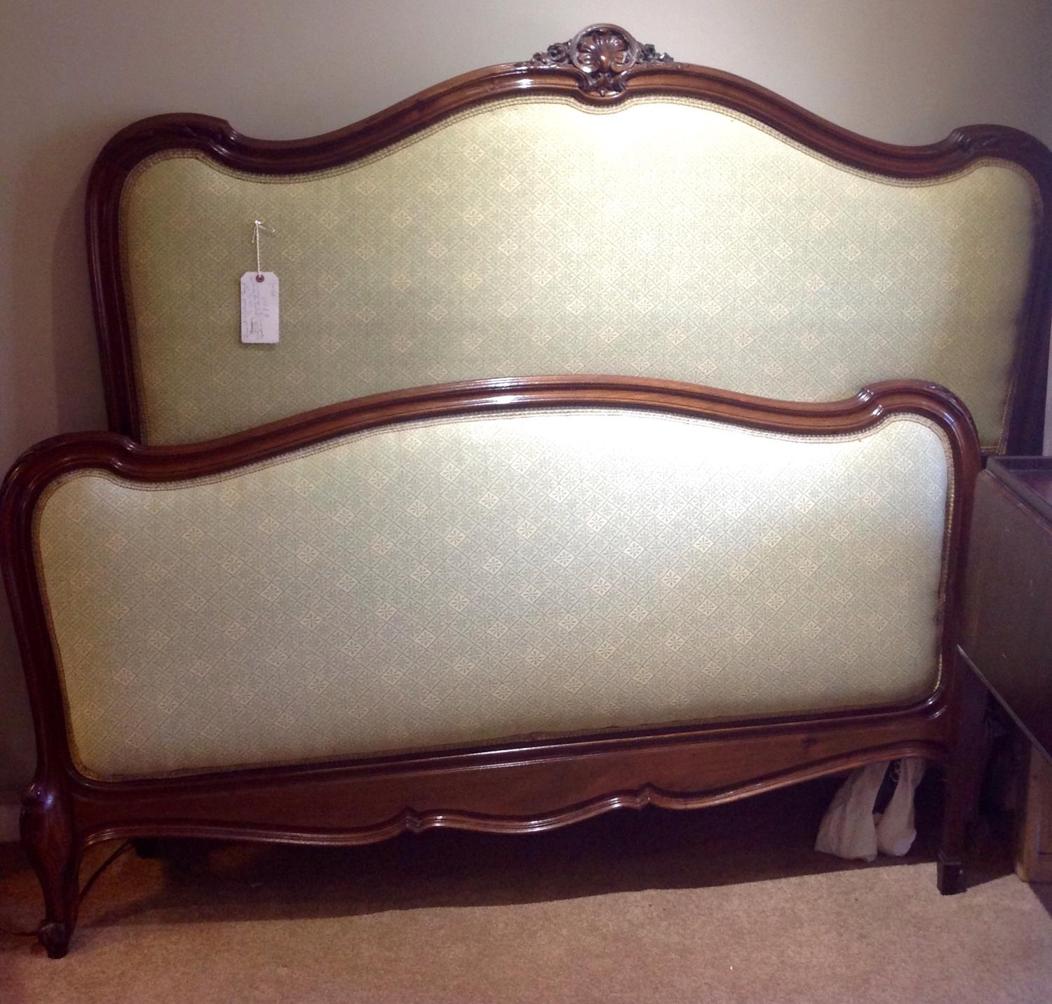 French Walnut bed