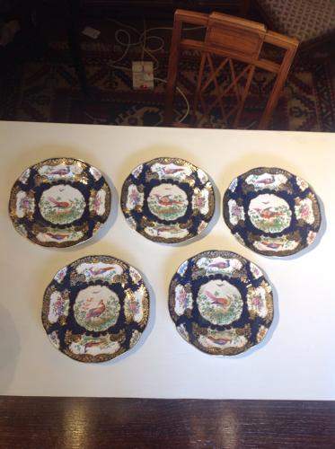 Set of 5 potteryplates