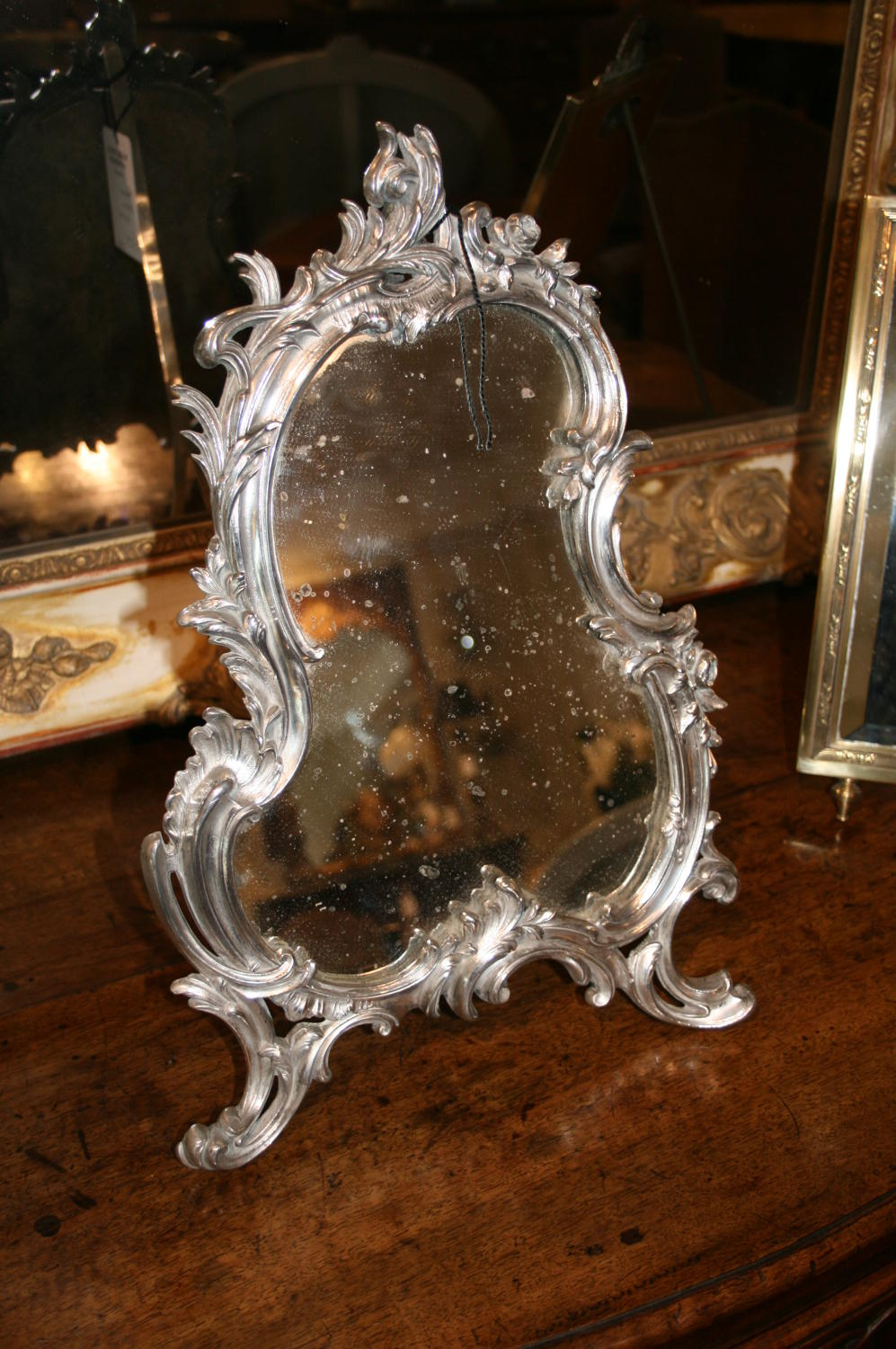 Pretty french table mirror