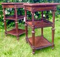 Pair of French Rosewood bedside tables - picture 6
