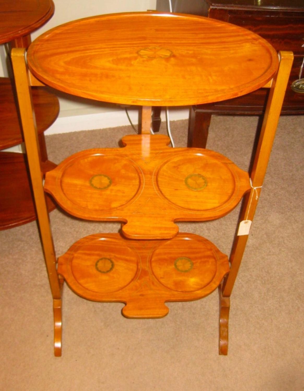 Satin wood Cakestand