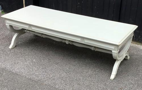 Painted Oak Long Coffee Table