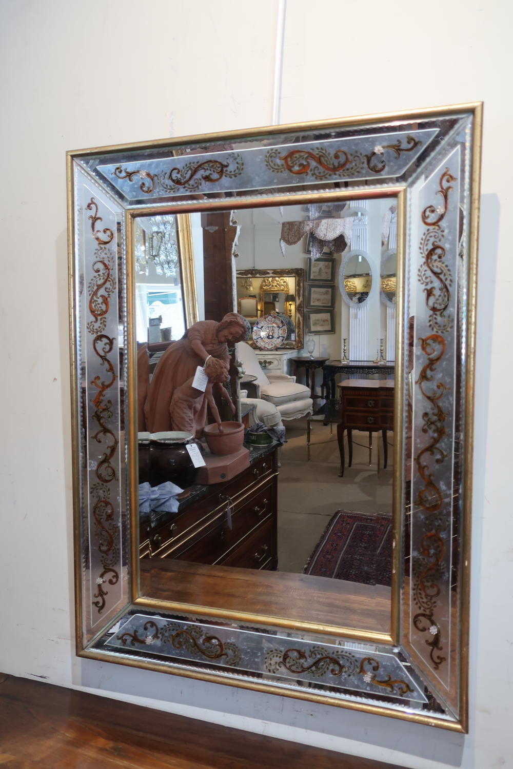 Stylish 1950's Mirror