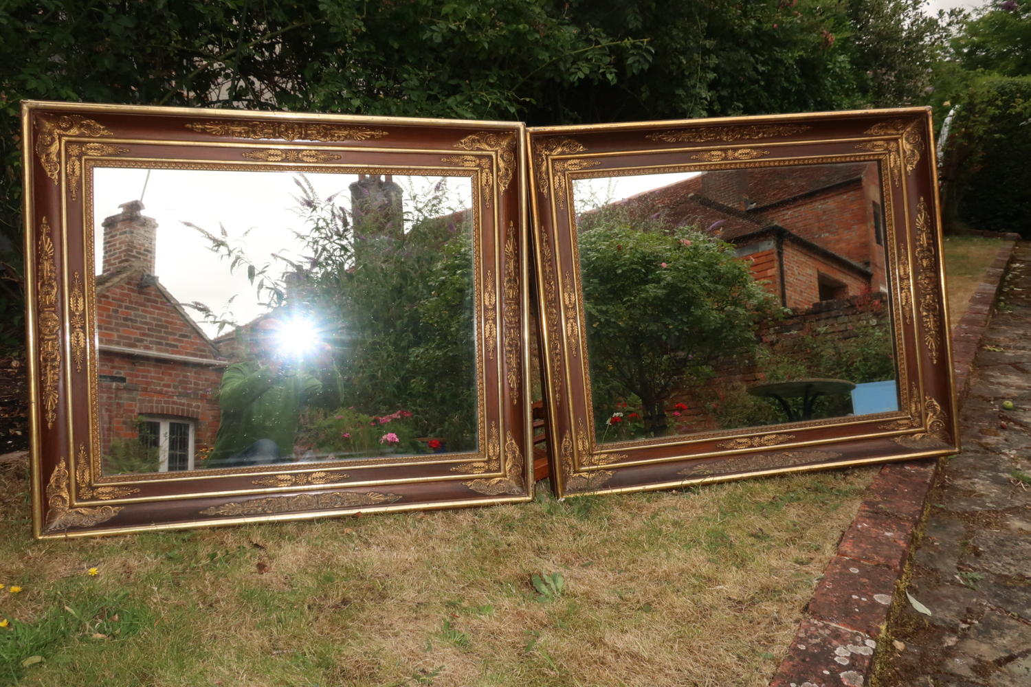 Pair of Restauration mirrors