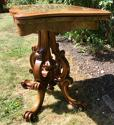 Victorian Burr Walnut Card Table - picture 5