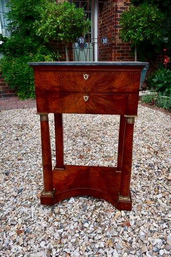 French Empire dressing table