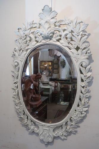 Pretty carved mirror