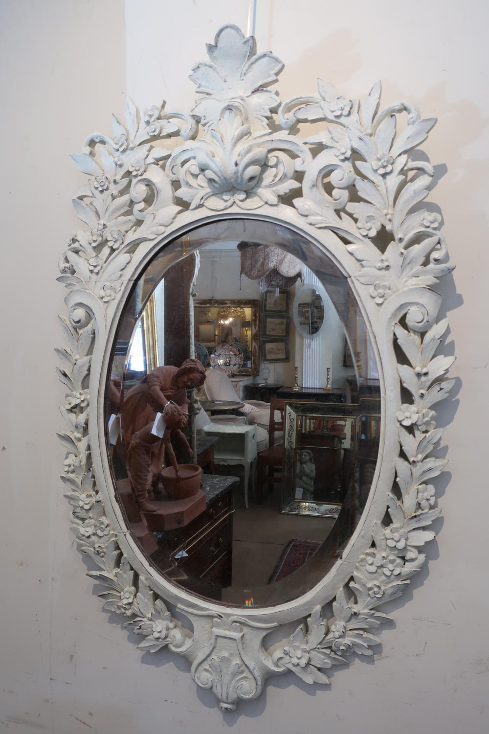 Pretty carved mirror