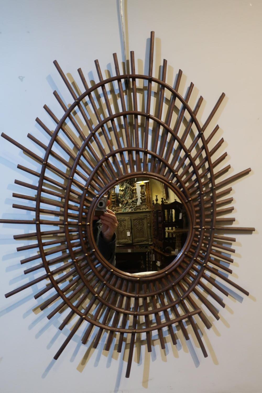 Mid century mirror