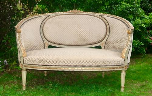 French Painted Sofa