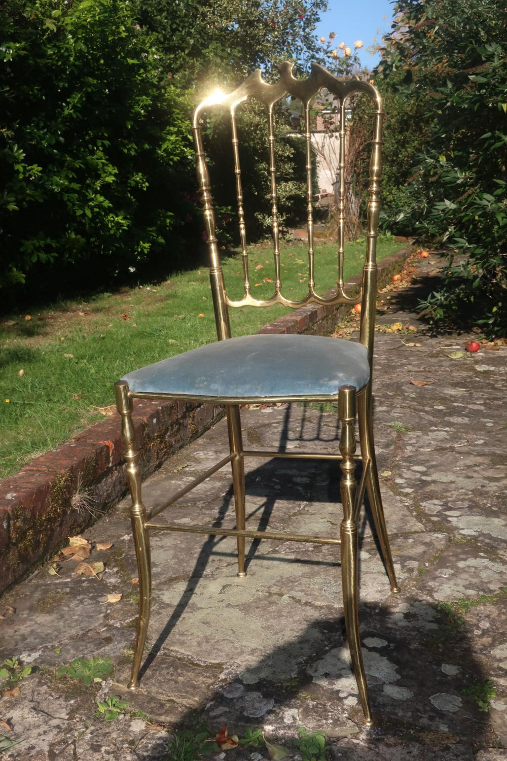 Brass Chiavari chair