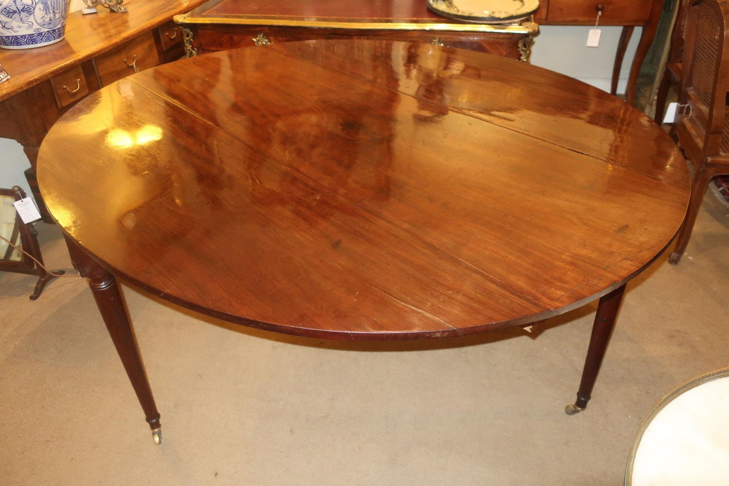 Large 18th Century oval table