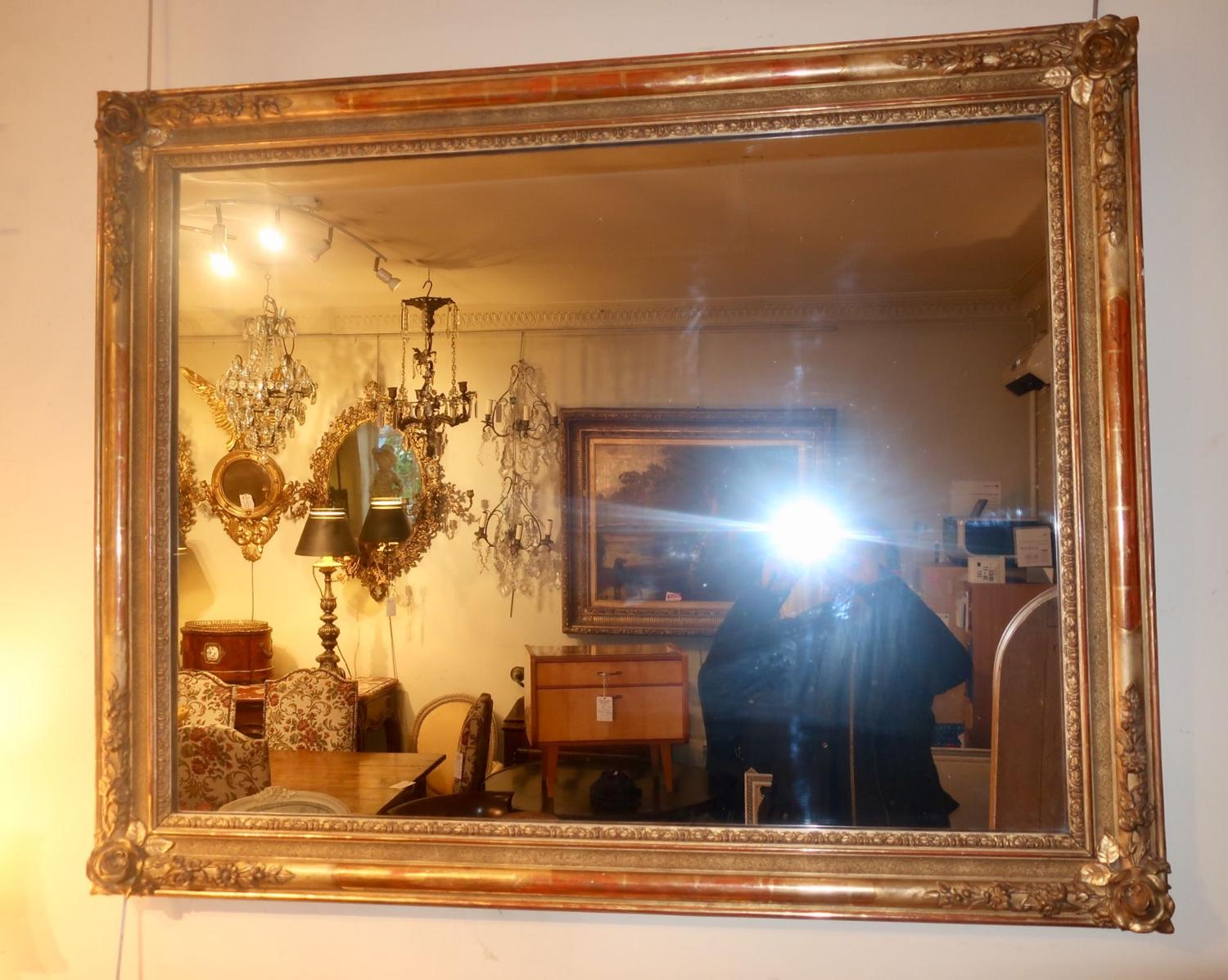 19th Century landscape mirror