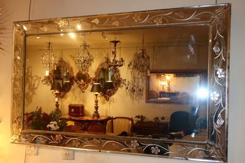 Venetian bistro mirror
