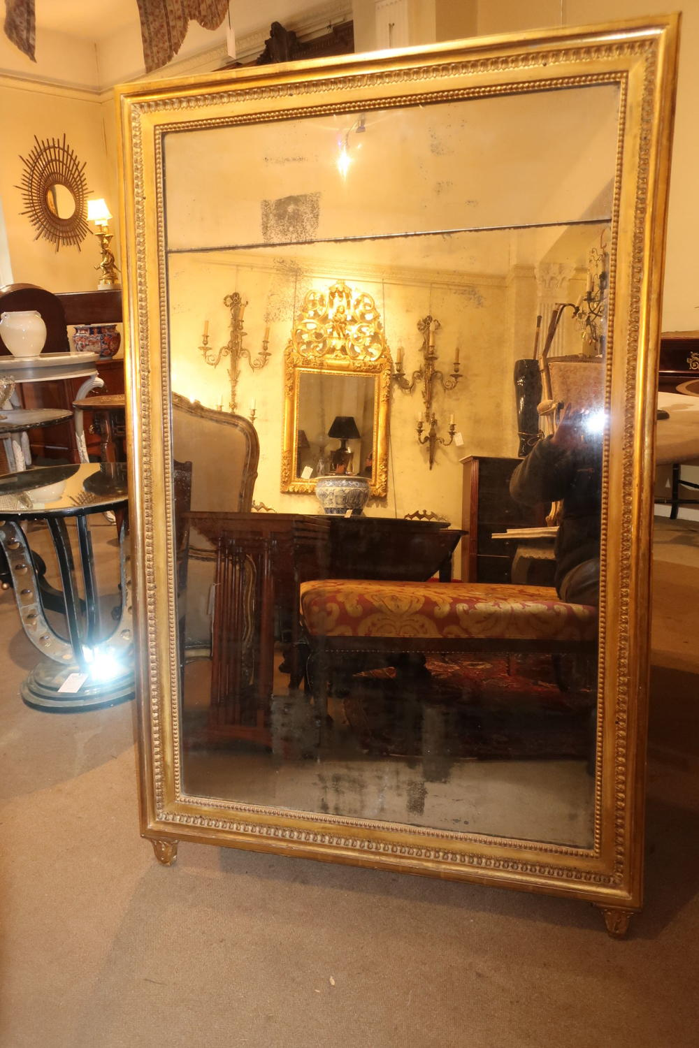 Large Restauration period mirror