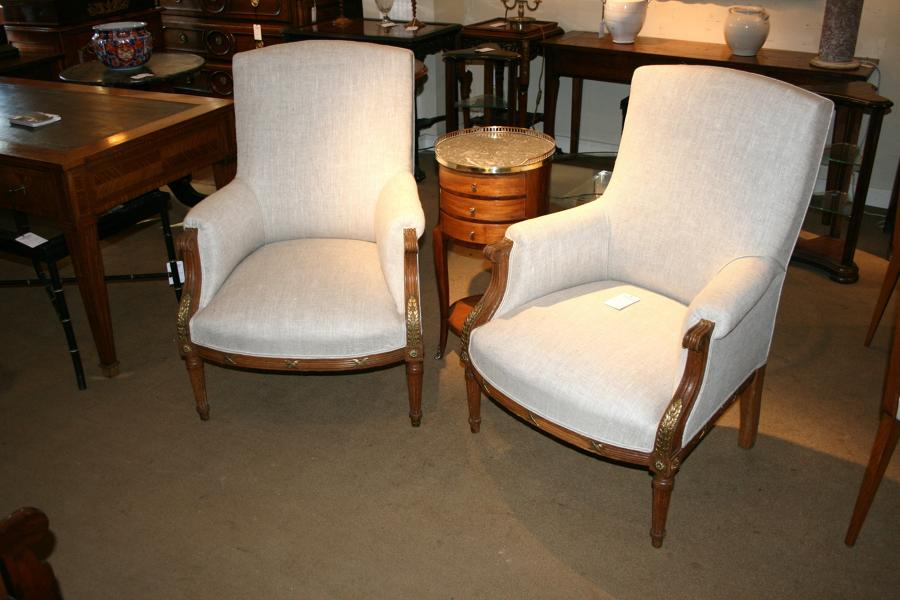 Pair Of Quality French Armchairs