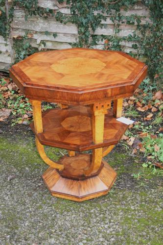 French Art Deco Occasional Table