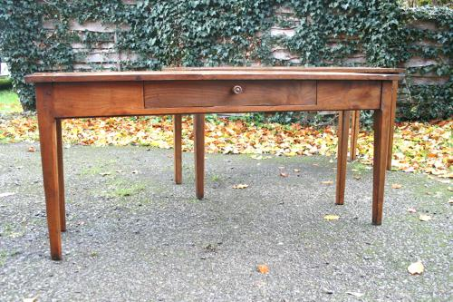 Pair Of Cherry Wood Serving Tables