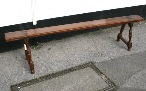 18th Century French Fireplace Bench