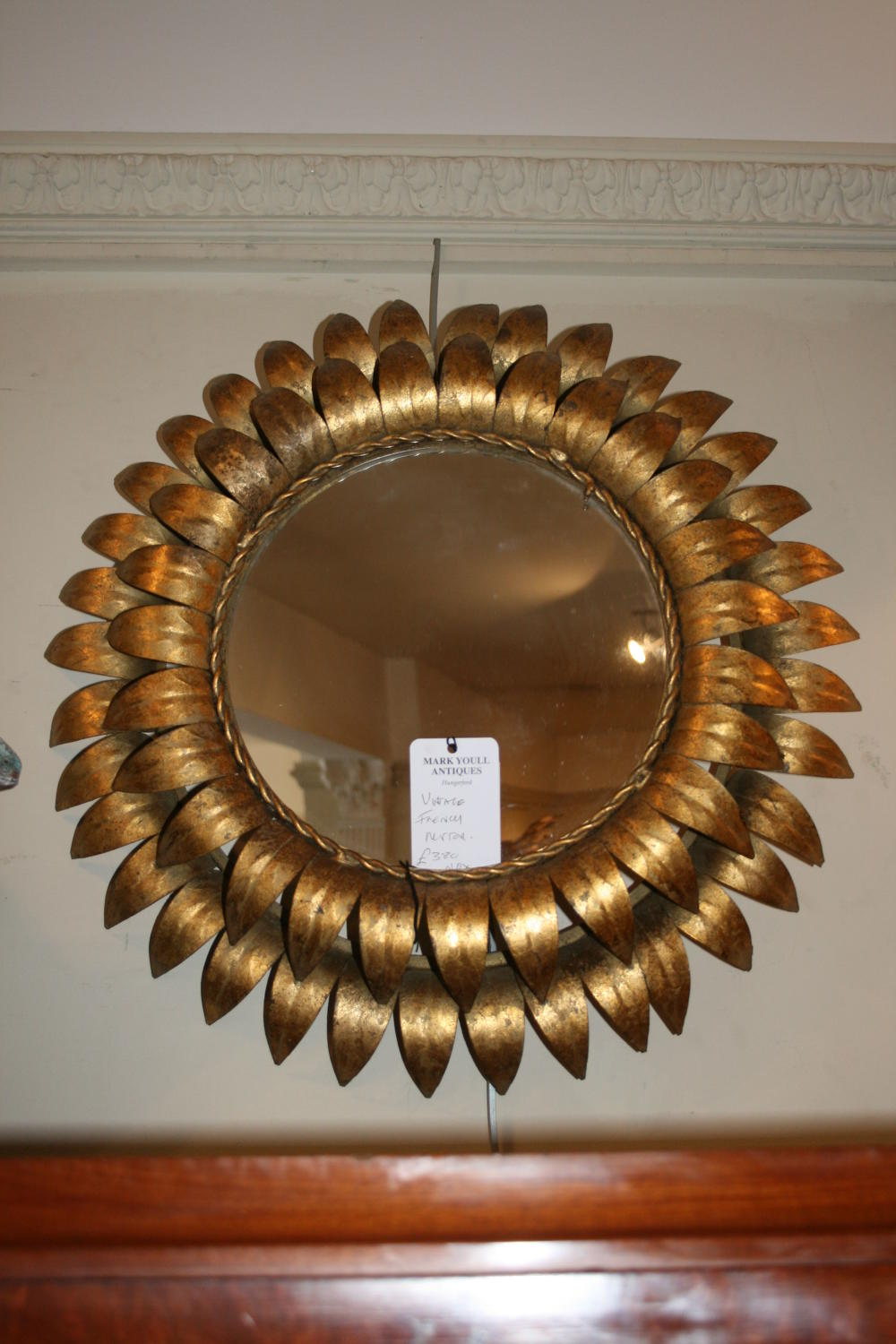 Spanish tole star mirror