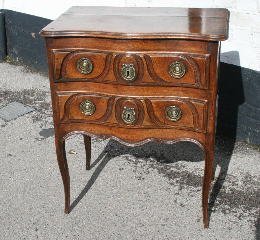 Louis 16 Period Oak Commode
