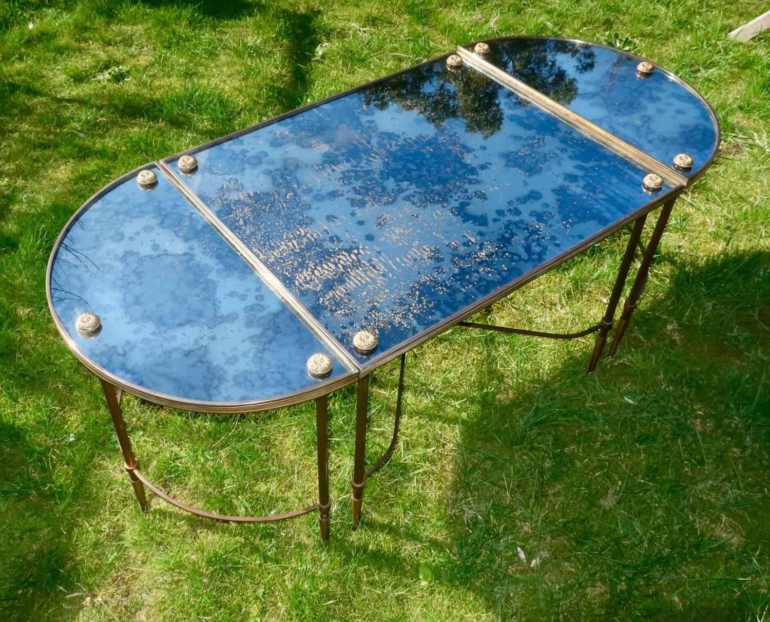 Mid 20th Century Maison Bagues Coffee Table