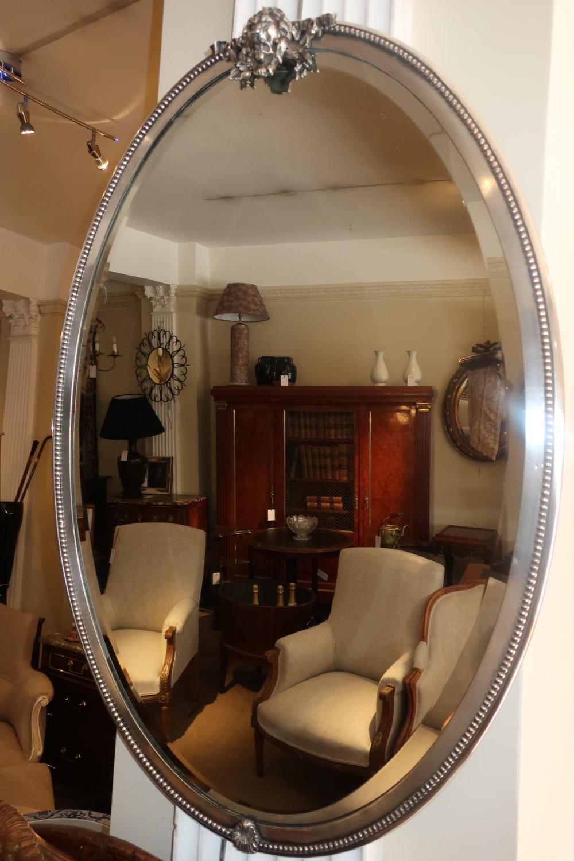 Silver plate mirror