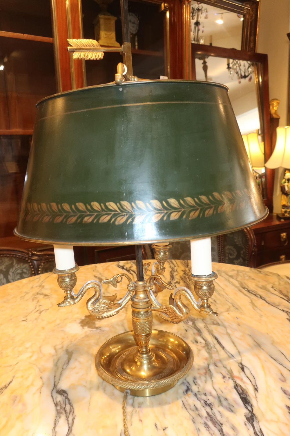 Large Bouillotte lamp