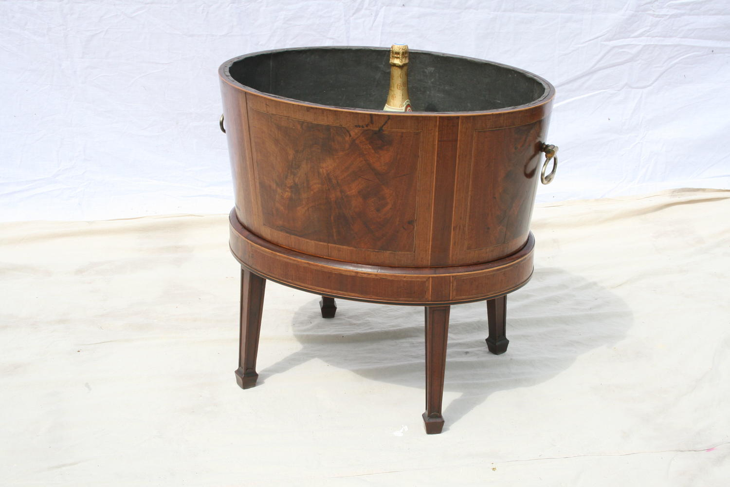 Large Georgian Wine Cooler