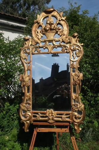18th Century Provence Gilt Mirror
