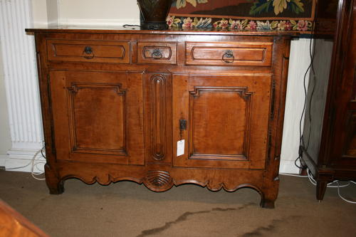 French Apple And Walnut Buffet C1800