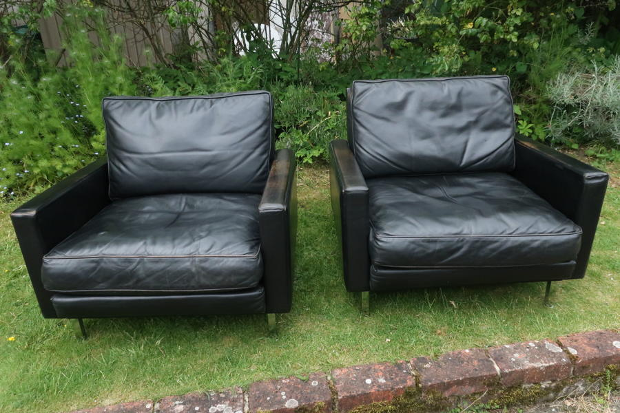 Pair of Herman Miller armchairs