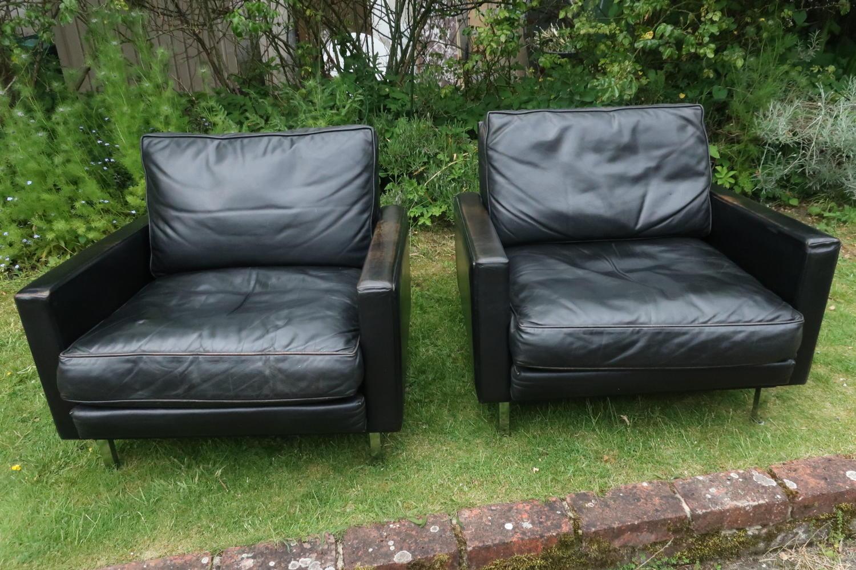 Pair of Herman Miller armchairs