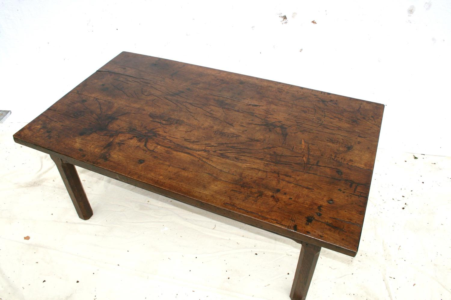 Solid oak french coffee table