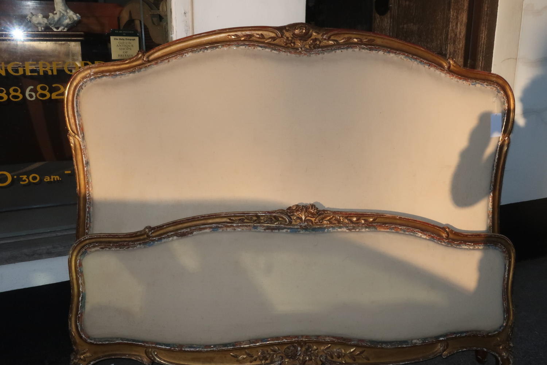 Kingsize giltwood Bed