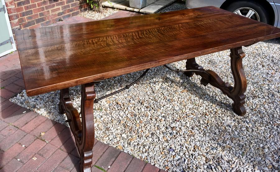 Walnut Spanish Dining Table