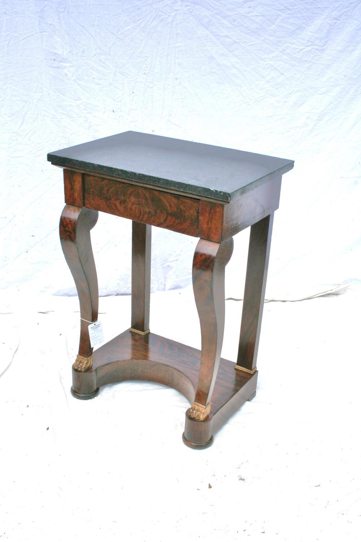 Small period mahogany console