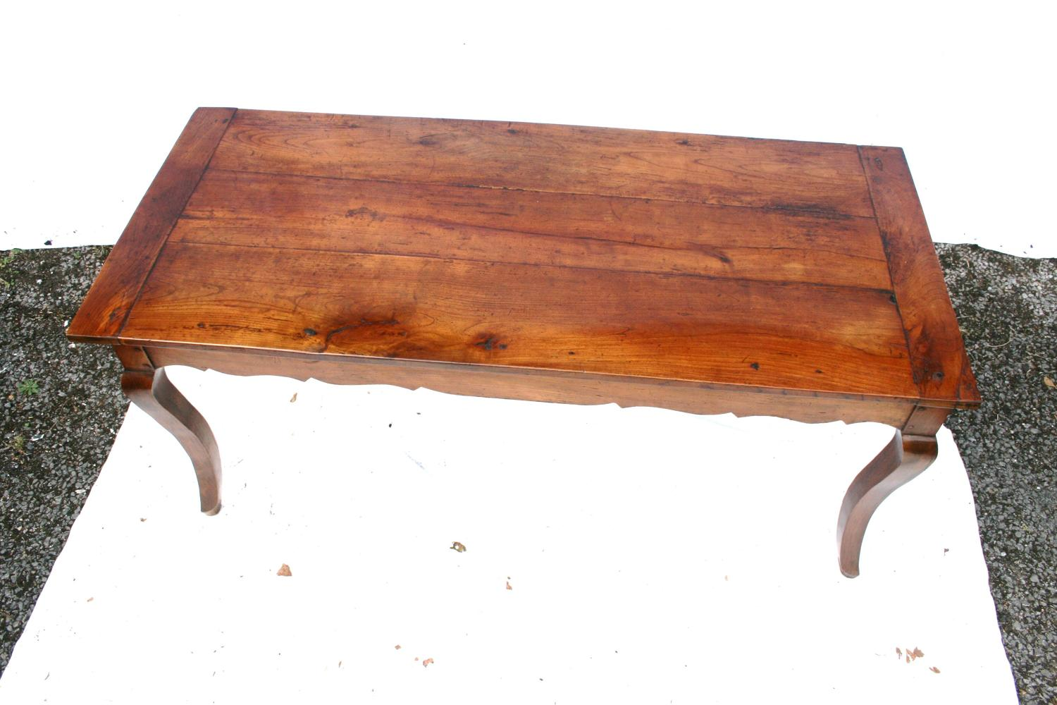 18th century cherry wood table