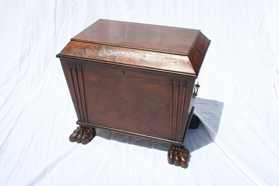 Georgian mahogany wine cooler